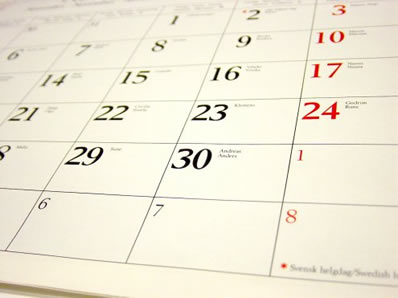 The counterfeit calendar