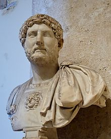 Marble bust of Hadrian, 10 August 117 – 10 July 138